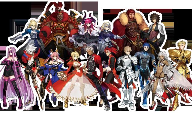 陣営紹介 │ Fate/EXTELLA(フェイト/エクステラ) 公式サイト